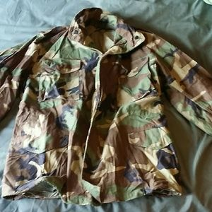 Origanal government issue Camo m65 field jacket for sale